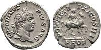 Denar 208, Rom. Kaiserliche Prägungen Cara...