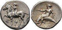 Didrachme 380/355 v.  Kalabrien
