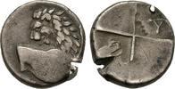 Hemidrachme 400/350 v.  Thrakien