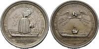 Silbermedaille 1718,  Karl Leopold, 1713-1...