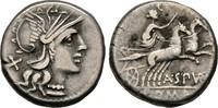Denar 138 v. Chr. Republikanische Prägunge...