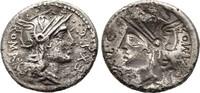 Denar 116/115 v.  Republikanische Prägunge...