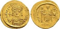 Solidus 542/565, Byzanz Justinianus I., 52...