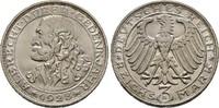 3 Mark 1928 D, WEIMARER REPUBLIK  Vorzüglich