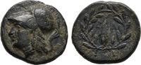 Kleinbronze 350/200 v.  Aiolis Athena / Ge...