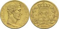20 Francs 1826 Q Frankreich Karl X. 1824-1...