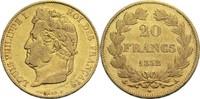 20 Francs 1832 A Frankreich Louis Philippe...