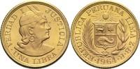 1 Libra 1964 Peru  vz-St