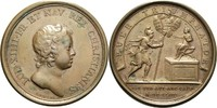 Bronzemedaille 1644 Frankreich Ludwig XIV....