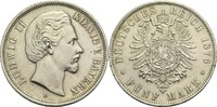 Bayern, Königreich 5 Mark Ludwig II. 1864-1886