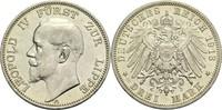 3 Mark 1913 A Lippe (-Detmold), Fürstentum...