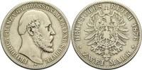 2 Mark 1876 A Mecklenburg-Schwerin, Großhe...