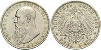 3 Mark 1908 D Sachsen-Meiningen Georg II. ...