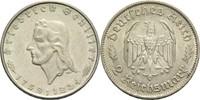 2 Mark 1934 F Drittes Reich  Friedrich Sch...