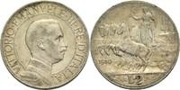 2 Lire 1910 Italien Viktor Emanuel III. 19...