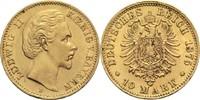 Bayern, Königreich 10 Mark Ludwig II. 1864-1886
