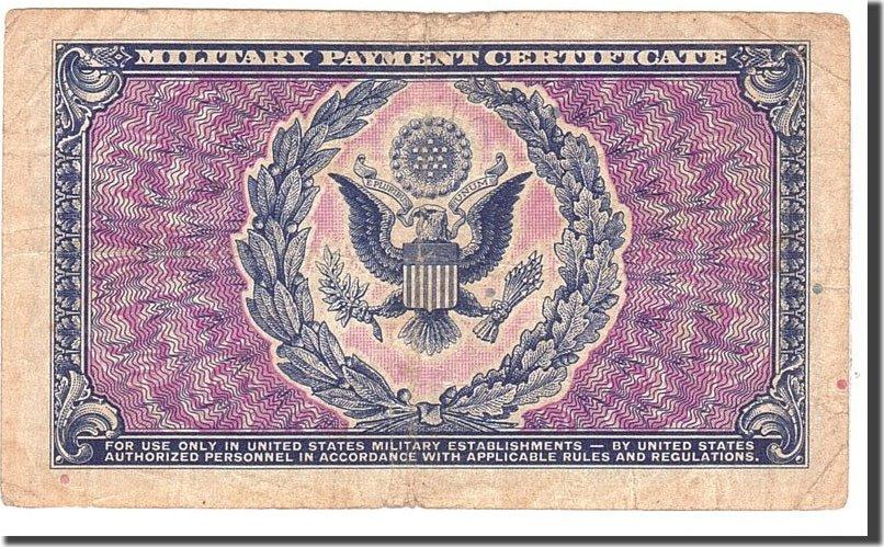 1 Dollar 1951 United States Banknote Undated Kmm26a Vf20 25