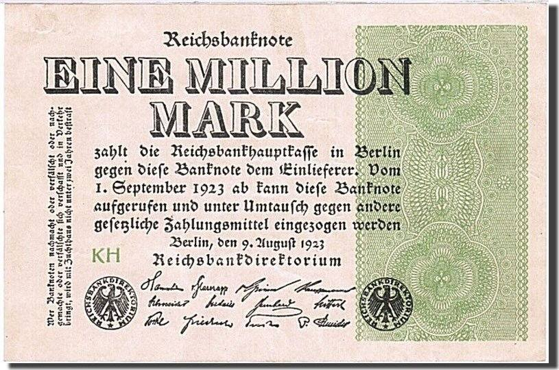 Germany 10 Million Mark 1923  P-106 Banknotes aUNC About UNC
