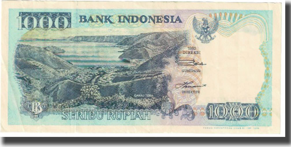Indonesia Banknote Km 129g Ef 40 45