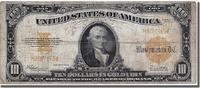 Vereinigte Staaten Ten Dollars