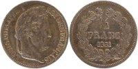 1/2 Franc 1831 B Frankreich Louis-Philippe EF(40-45)  100,00 EUR  zzgl. 10,00 EUR Versand