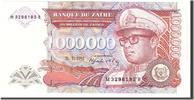 1,000,000 Zaïres 1992 Zaire  UNC(65-70)