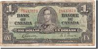 1 Dollar 1937 Kanada KM:58d, 1937-01-02, S...