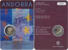 2 Euro 2015 Andorra Coincard, 2 Euro Accor...