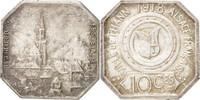 10 Centimes 1918 Frankreich  AU(55-58)