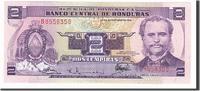 2 Lempiras 1976 Honduras  UNC(65-70)