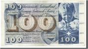100 Franken 1956-73 Schweiz  EF(40-45)