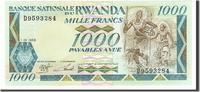 1000 Francs 1988 Ruanda  UNC(65-70)