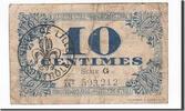 10 Centimes 1918 Frankreich Lille, S+, Pir...