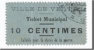 10 Centimes  Frankreich Vertus, UNZ, Pirot...