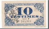 10 Centimes 1918 Frankreich Lille, UNZ-, P...