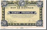 20 Francs 1916 Frankreich Roubaix et Tourc...