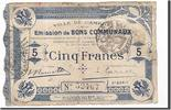 5 Francs 1914 Frankreich Cambrai, S, Pirot...