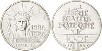 100 Francs 1986 Not Ap Frankreich  AU(55-58)
