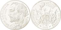 10 Francs 1982 Frankreich STGL, Silber, KM...