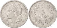 5 Francs 1948 B Frankreich Lavrillier, Bea...