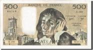 500 Francs 1979 Banque De France French ...