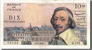 10 Nouveaux Francs 1961 Frankreich 10 NF 1...