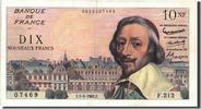 10 Nouveaux Francs 1962 Frankreich 10 NF 1...