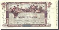 5000 Francs 1918 Frankreich 5 000 F 1918  ...