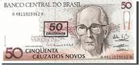 50 Cruzados Novos 1990 Brasilien  UNC(65-70)