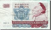 100 Kronor 1965-1985 Sweden Foreign Bankno...