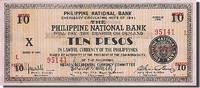 10 Pesos 1941 Philippinen  UNC(65-70)