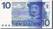 10 Gulden 1966-1972 Niederlande KM:91b, 19...