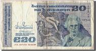 20 Pounds 1989 Ireland Foreign Banknoten I...