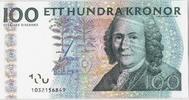 100 Kronor 2001 Schweden Undated, KM:65a UNZ